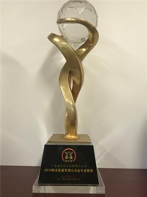 2010年 第二届阳光私募管理公司金牛进取奖